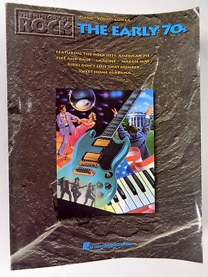 History of Rock : The Early 70's Di, Meola A. Piano Vocal Guitar (History Of The 70s)