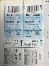 RUDIMENTAL TICKETS FOR TONIGHT X2 South Melbourne Port Phillip Preview