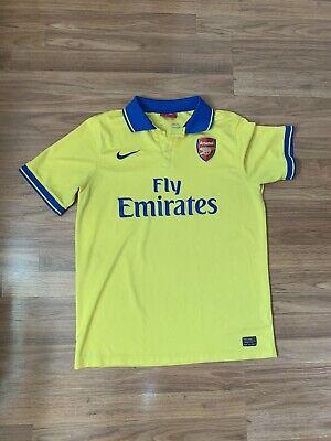 Nike Arsenal FC 2013 - 2014 Away EPL Football Soccer Jersey Size XL image