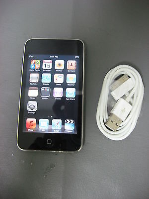 8GB Apple iPod Touch 2nd-Gen/iOS/A1288/MP3 Player/Functional/Bundled USB on Rummage