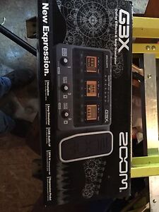 Zoom G3X guitar effects