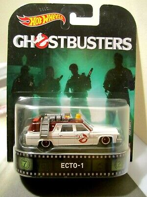 Hot Wheels Retro Entertainment 2017 Edition Ghostbusters Ecto-1