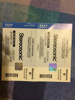 SYDNEY STEREOSONIC TICKETS Maitland Maitland Area Preview