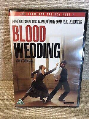 Blood Wedding (Bodas De Sangre) [DVD][Region 2] New And Sealed Free Post