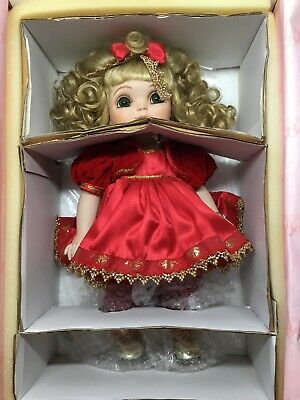 "Marie Osmond-Adora Belle-Jingle Belle-14"" Doll Porcelain-COA 0742/1000-Orig Box!"