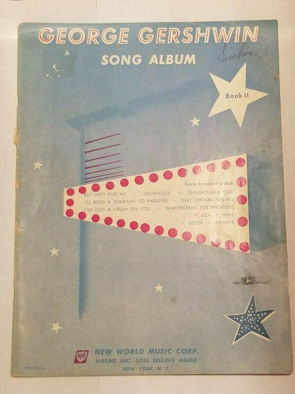 George Gershwin Song Album Book 2