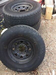 Toyota hilux tyres and rims Tullamarine Hume Area Preview