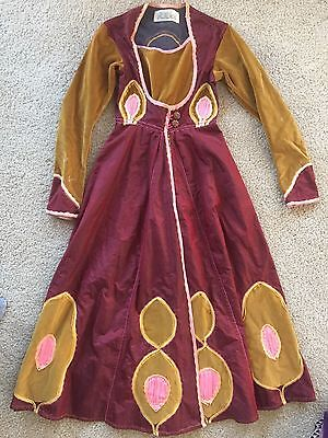 Bloomingdales Vintage Victorian Medieval Renaissance Dress Velvety Cloak Costume