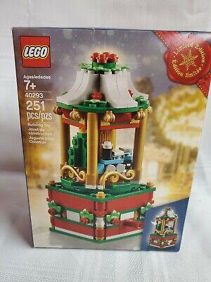 NIP Lego Limited Edition Christmas Carousel Set 40293
