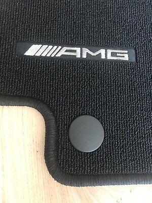 Original Mercedes AMG C-Klasse W205 S205 Fußmatten 4-teilig Schwarz.