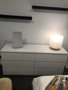 IKEA, Malm Chest of Six Drawers