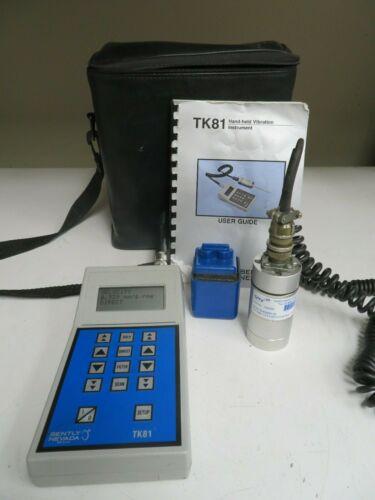 Bentley Nevada TK81 Tunable Filter/Vibration Meter w/ case and manual - NI47