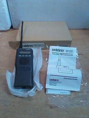 Uniden Sph 454kt Two-way Fm Tranceiver 16 Ch.438 To 470 Mhz