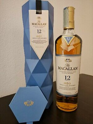 SCOTCH WHISKY THE MACALLAN 12 Y.O. TRIPLE CASK 40% CL70 SPECIAL EDITION...