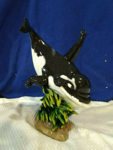 SPOUTY AND FRIENDS~Wyland~Signed Sculpture~Killer~VERY NICE!