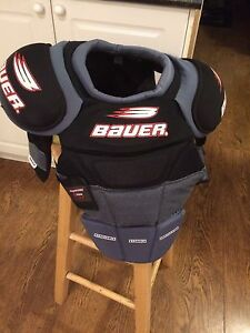 Hockey chest pad