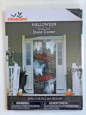 Halloween door cover DO NOT ENTER  30