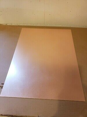 1 Pc. Double Sided Copper Clad Circuit Board Laminate Fr-4 .100 21 X 24 1 Oz.
