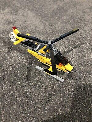 Lego Creator 3 in 1 6745 Propeller Power Plane 100% Complete!