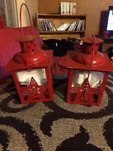 Xmas tealight  lanterns - red Coorparoo Brisbane South East Preview