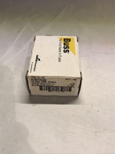 NEW Cooper Bussmann Fusetron FRN-R-15 Box Of 10 - $12.99