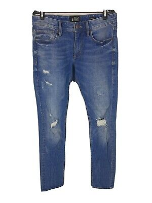 Vintage SuperDry Skinny Jeans Distressed Mens 32x32