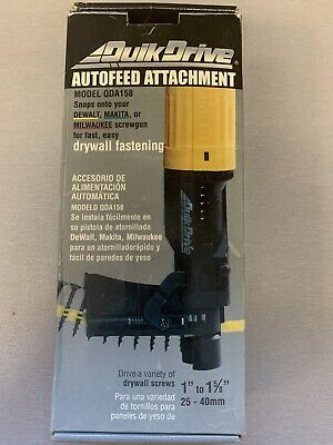 Quik Drive Qda158 Autofeed Attachment For Drywall Fastening