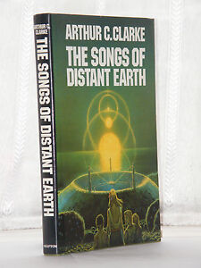 Arthur-C-Clarke-Songs-of-Distant-Earth-1st-Edition-1986-SIGNED