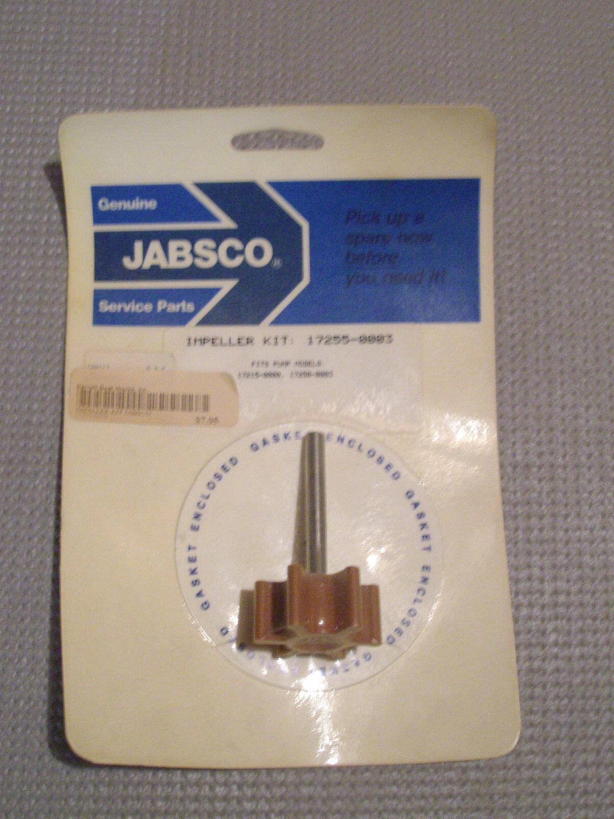 NOS OEM Jabsco 17255-0001 Impeller Kit Shaft Profile D Pump Marine B