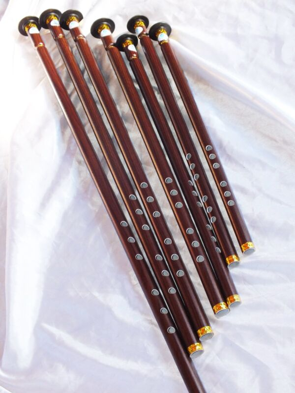 TURKISH WOODWIND  PLASTIC   NAY NEY SET  TOTAL 7