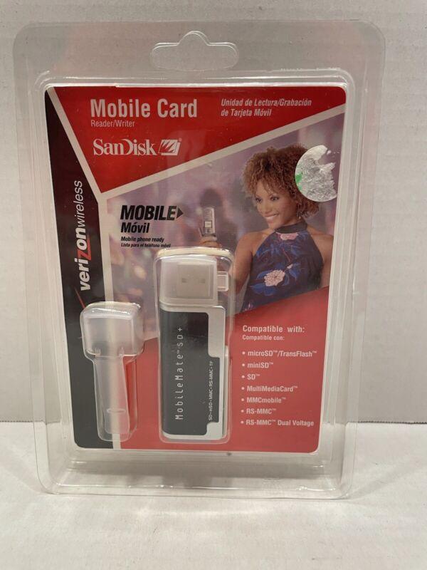 SanDisk Mobile Card Reader/Writer Verizon Wireless Mobile Mate SD+ HighSpeed 2.0