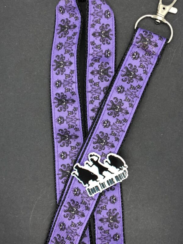 Disney The Haunted Mansion Lanyard With Pin