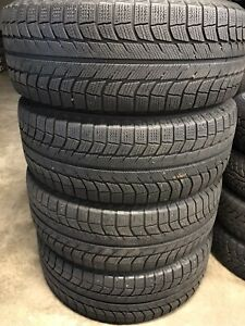 Set of 265/65R17 Michelin winter tires. 265 65 17