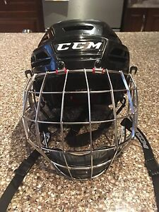 Casque hockey anti-commotion