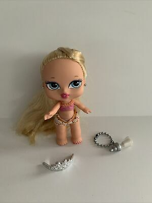 BRATZ BABYZ CLOE -HAIR FLAIR ORIGINAL CLOTHES BOTTLE TIARA HTF RARE EUC