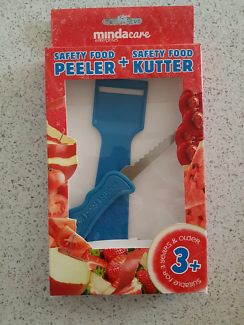 Safety knife & peeler set