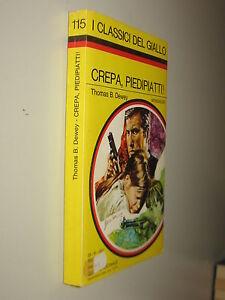I-CLASSICI-DEL-GIALLO-115-1971-DEWEY-B-THOMAS-CREPA-PIEDIPIATTI-MONDADORI