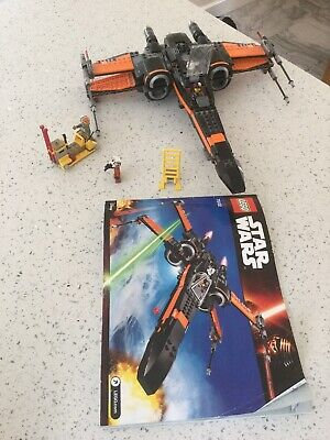 LEGO Star Wars Poe's X-Wing Fighter (75102) Complete