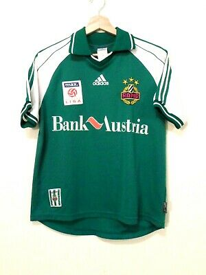 1999 RAPID Wien FC Football SHIRT Jersey size YL ADIDAS Tricot Camiseta AUSTRIA image