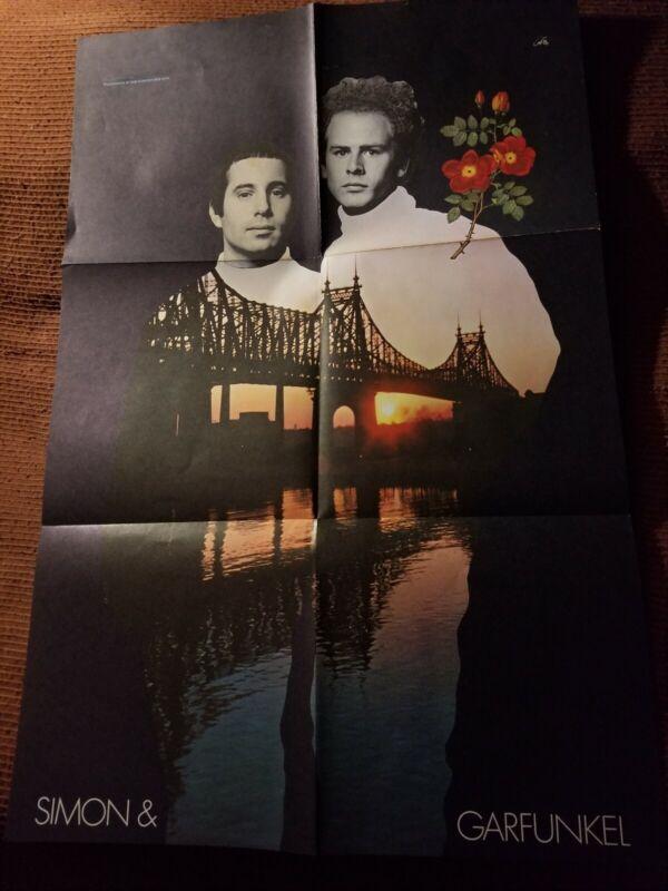 SIMON AND GARFUNKEL 60S ALBUM POSTER