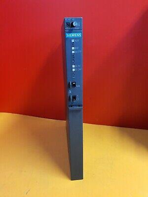 SIEMENS 6ES7 407-0DA02-0AA0 PS 407 4A  PLC POWER SUPPLY 6ES7407-0DA02-0AA0