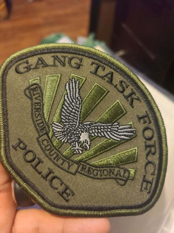 Riverside County Regional Police Narcotics Task Force Patch, California