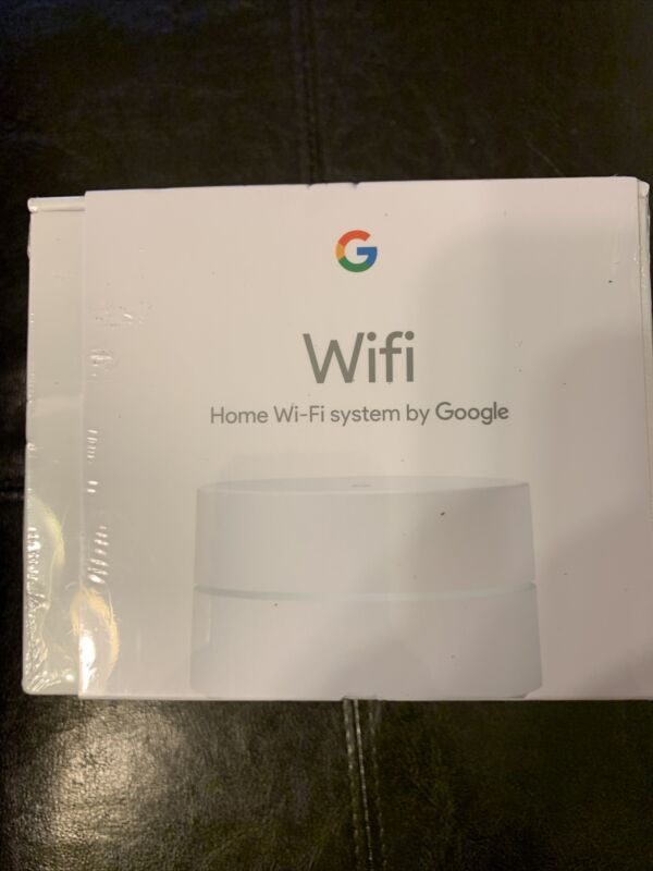 Google Wifi AC1200 Dual-Band Mesh Wi-Fi Router - White - NEW & SEALED