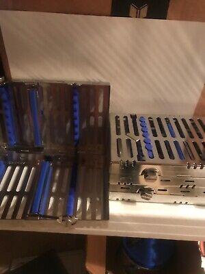 Hu-friedy Dental Cassette Double Decker 14 Instrument