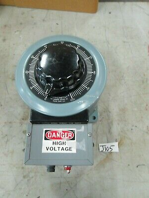 Powerstat Variable Transformer Whigh Voltage Receptacles Bryant 20a Male New
