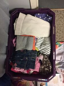Size 18 months to 2 t girls cloths in good condition