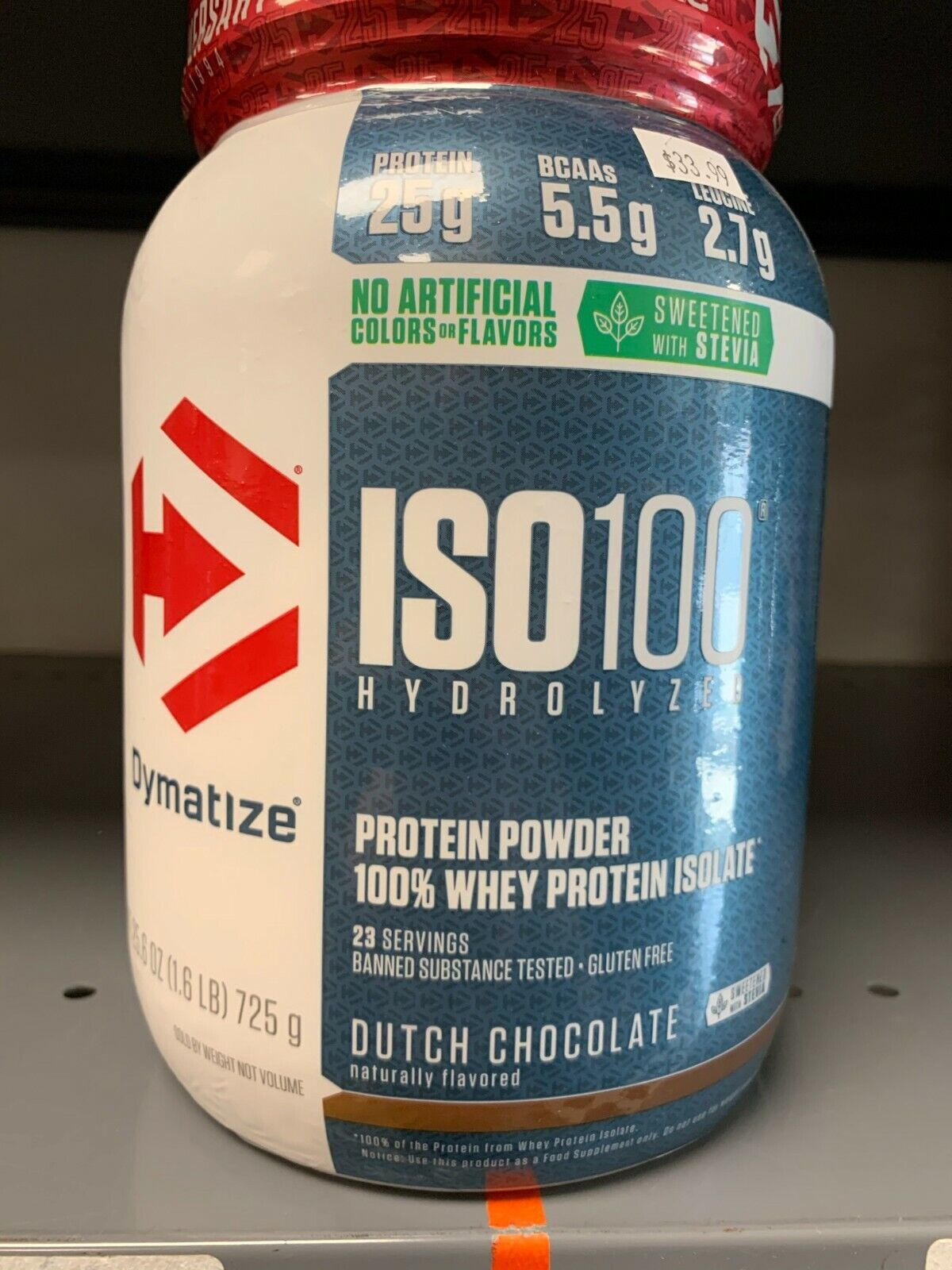 Dymatize ISO 100 1.6LBS Whey Protein Powder Isolate Pick Flavor 1