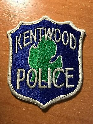 For sale PATCH POLICE KENTWOOD MICHIGAN MI STATE