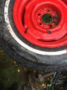 Wheels and tires too fit older dodge$250