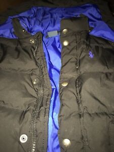 Down filled polo Ralph Lauren Toddler winter coat sz 3